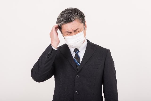花粉症,ひどい,頭痛