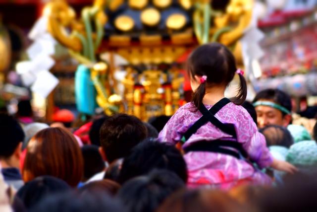 三社祭,由来,2017,日程,見所