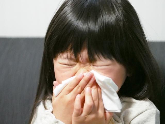 子供,鼻水,止まらない,原因,対処法