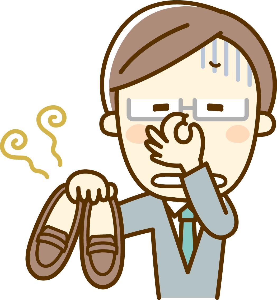 冬,足の臭い,原因,男,対策,グッズ