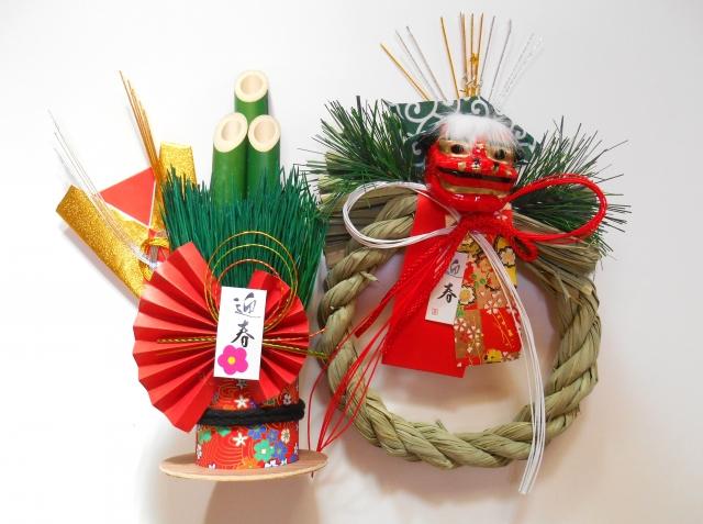 正月飾り,処分,神社,自宅