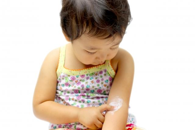 子供,乾燥肌,スキンケア,効果,保湿,入浴剤