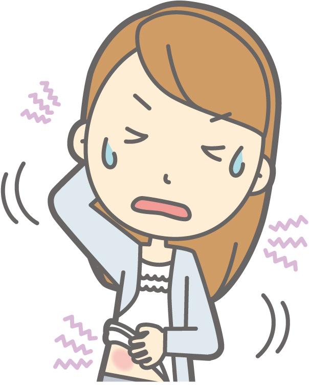 全身,かゆみ,湿疹,原因,ストレス