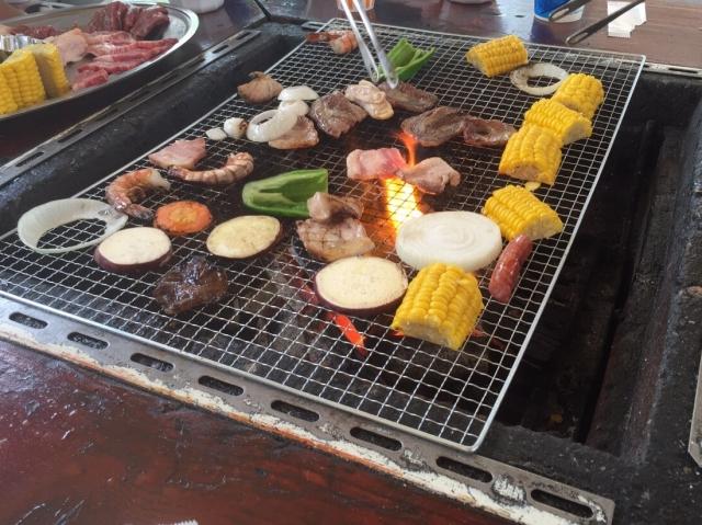 バーベキュー,肉以外,食材,デザート